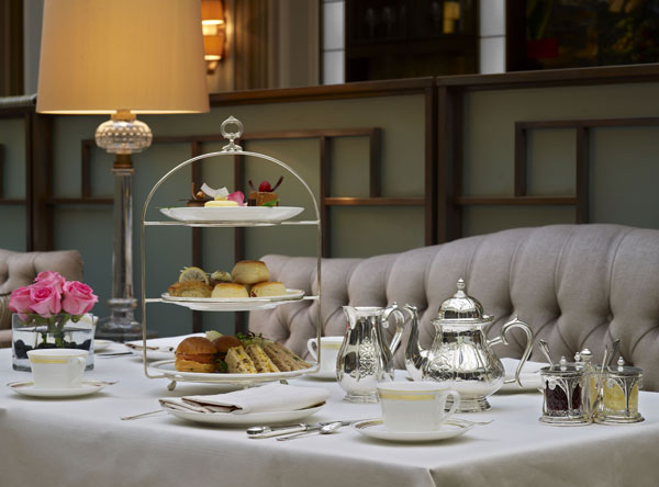 Afternoon tea at The Lanesborough Hotel