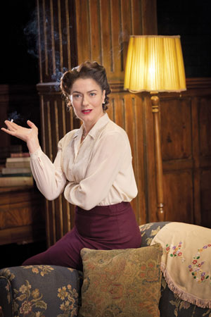 Anna Chancellor in The Browning Version (c) Johan Persson