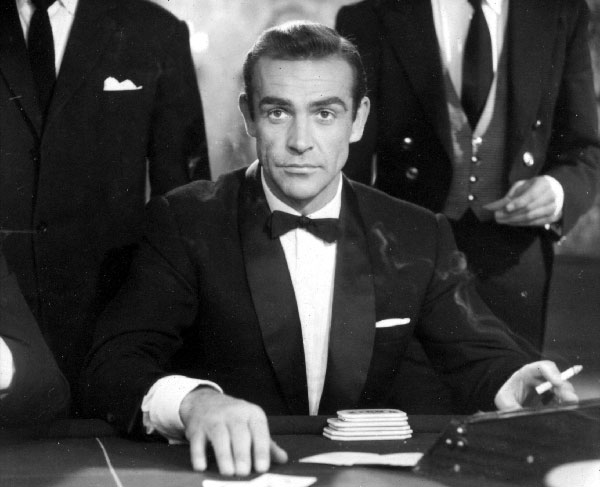 Sean Connery Dr No © 1962 Danjaq, LLC and United Artists Corporation. All rights reserved.