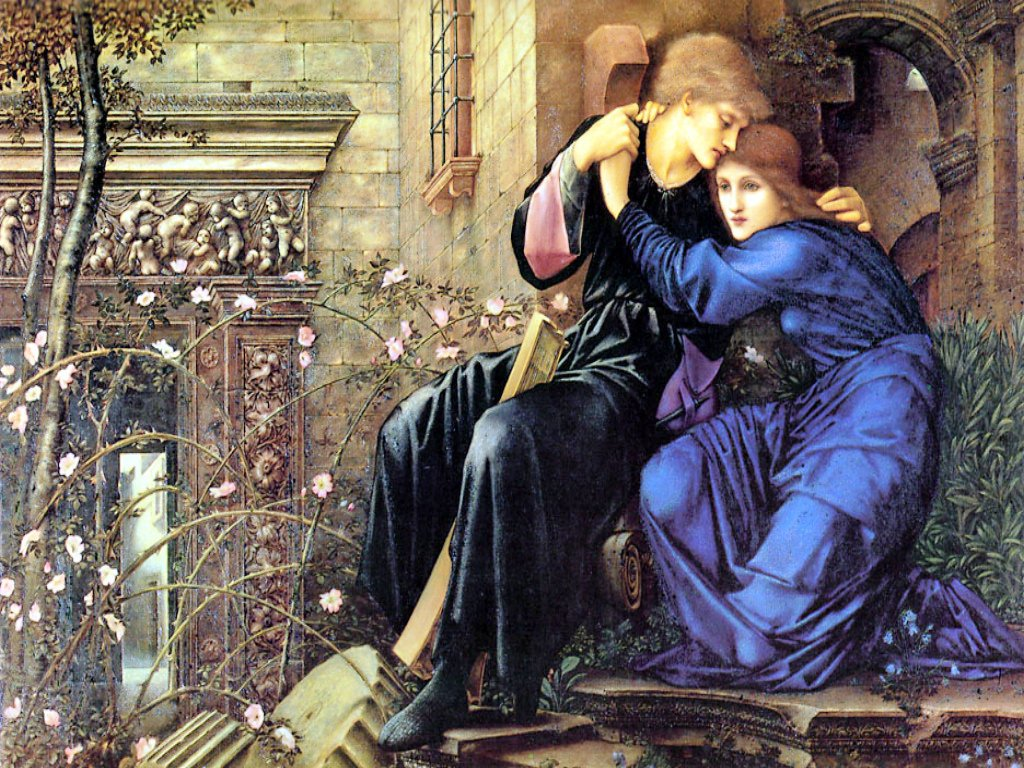 Love Among the Ruins by Edward Burne-Jones