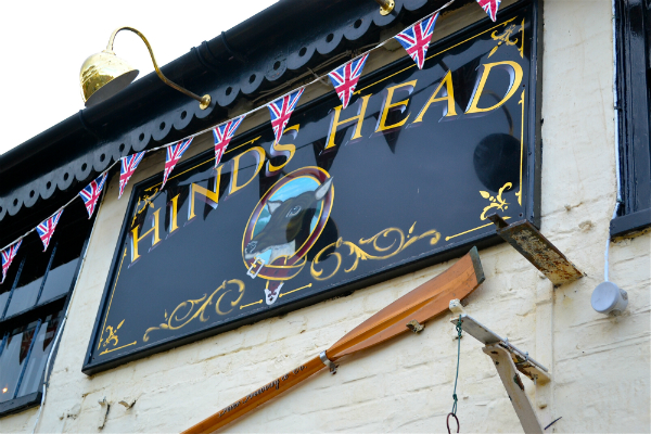 Michelin Stargazing at The Hinds Head