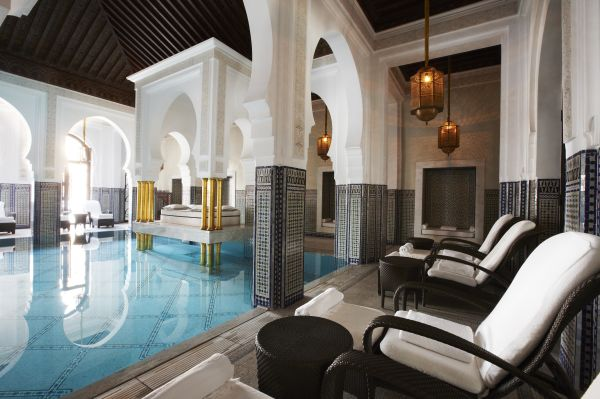 La Mamounia - indoor pool
