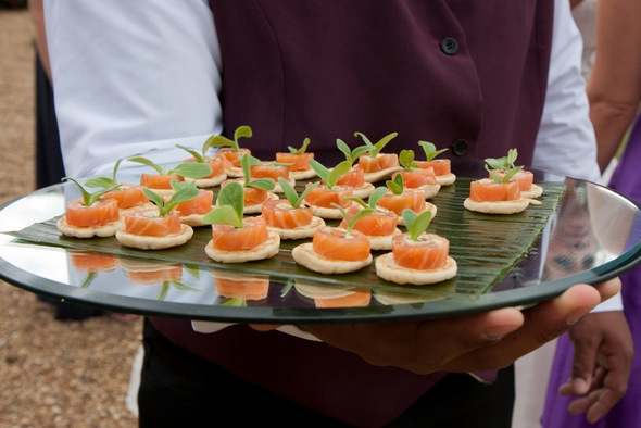 The perfect hostess the arbuturian for Canape wedding