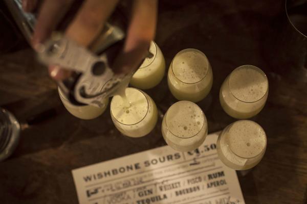 Drinks at Wishbone
