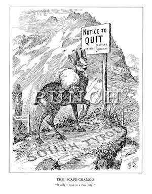 Punch Cartoons on WW2, The Second World War