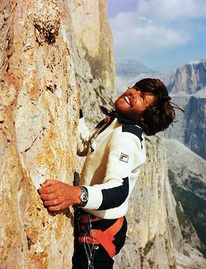 Reinhold-Messner climbing