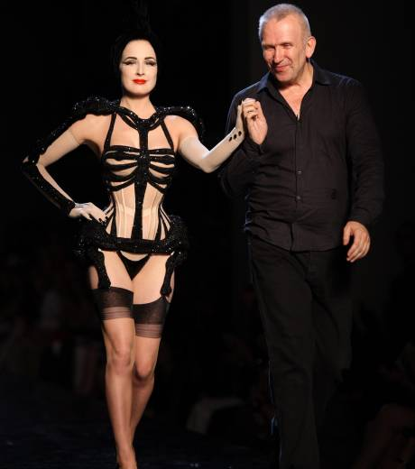 Dita von Teese and Jean Paul Gaultier AW10/11 © Getty Images