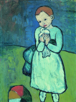 3. Picasso Child with a Dove
