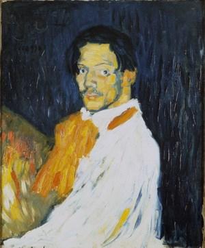 7a. Picasso - Self-Portrait (Yo - Picasso)