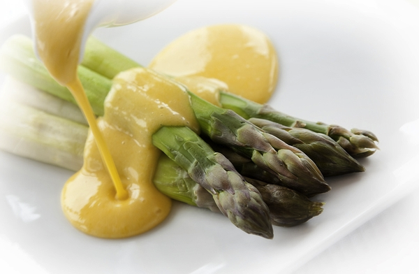 asparagus hollandaise use