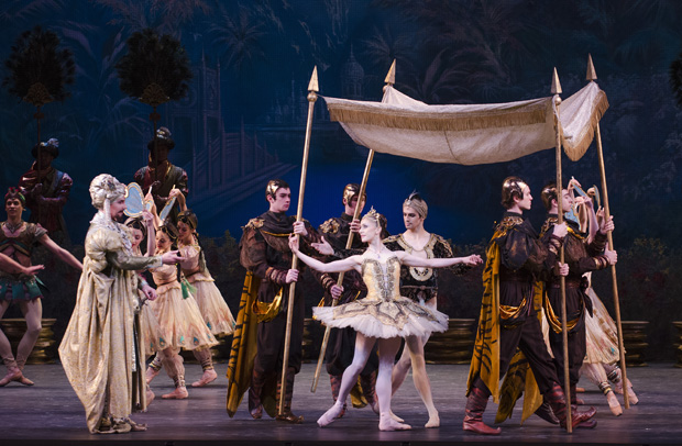 La Bayadère at the Royal Opera House