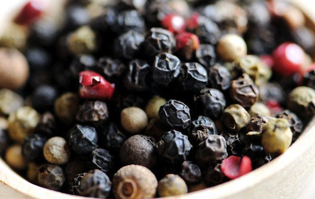 MIxed Peppercorns cut