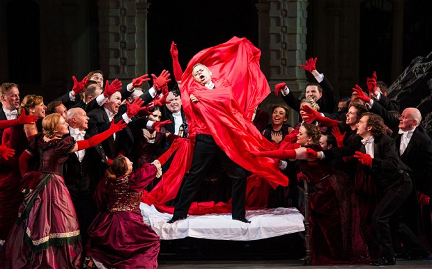 Still from OHP's production of 'Lucia di Lammermoor'