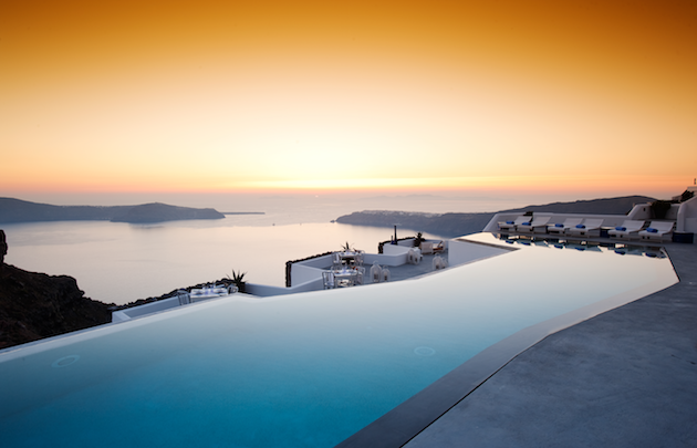 Santorini ext sunset