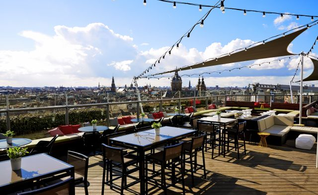 DTbH Amsterdam Skylounge Terrace