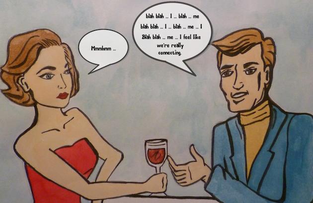 First Date cartoon