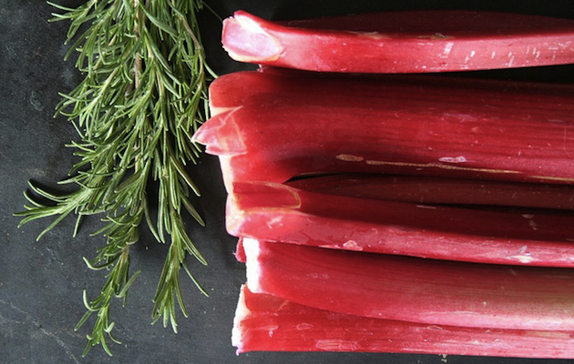 Rhubarb and Rosemary