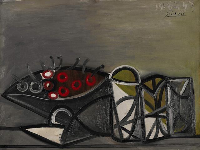 Simon Shore: Nature Morte au Comptier by Pablo Picasso (1881-1973)