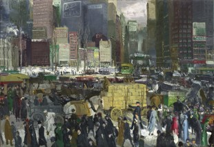 George Bellows, 'New York', 1911.