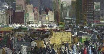 George Bellows, 'New York', 1911.