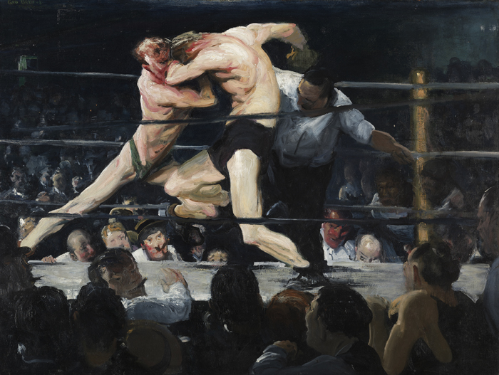 George Bellows, 'Stag at Sharkey's', 1909.