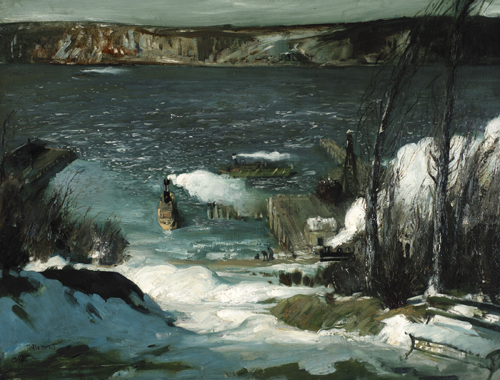 George Bellows, 'North River', 1908.