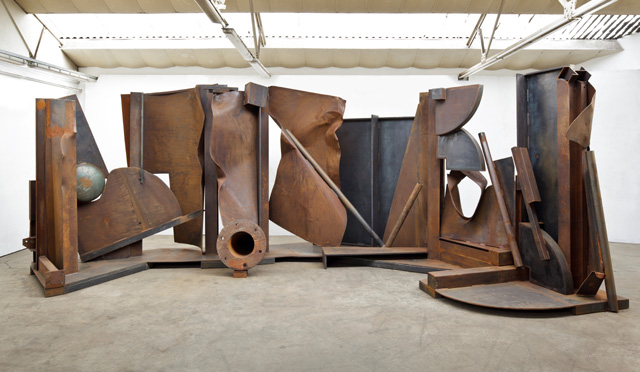 "Anthony Caro RA ""Shadows, 2013"" Photography: John Hammond"