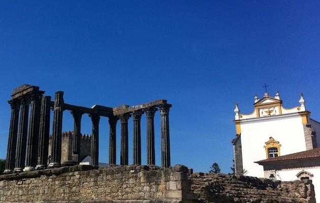 Alentejo roman ruins