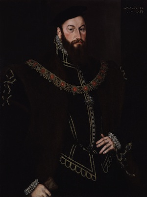 Anthony Browne, 1st Viscount Montague, by Hans Eworth