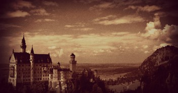 Bavarian Schloss photoshop