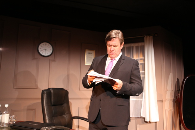 Ian Grieve as GB in the Confessions of Gordon Brown. Copyright MRP 2013
