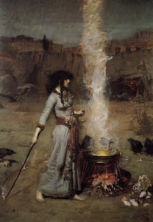 John William Waterhouse, 'The Magic Circle' (1886)
