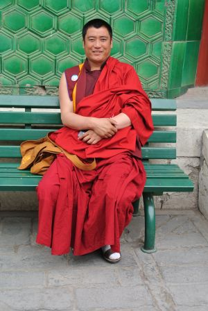 Lama Temple Monk