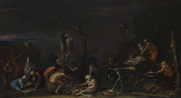 Salvator Rosa, 'Witches at their Incantations' (1646)