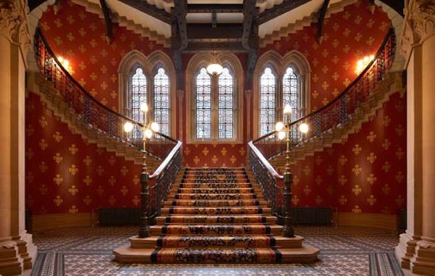 St Pancras stairwell