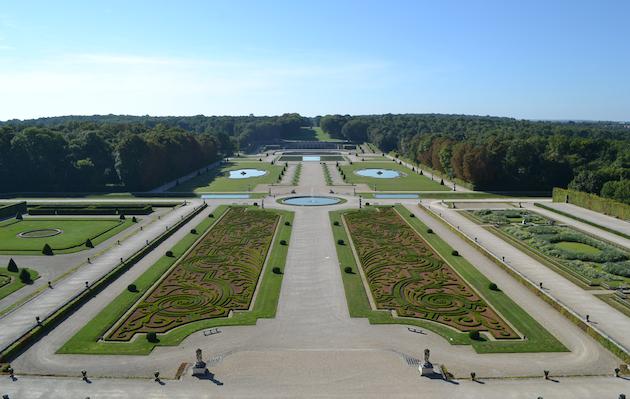 Vaux le Vicomte garden
