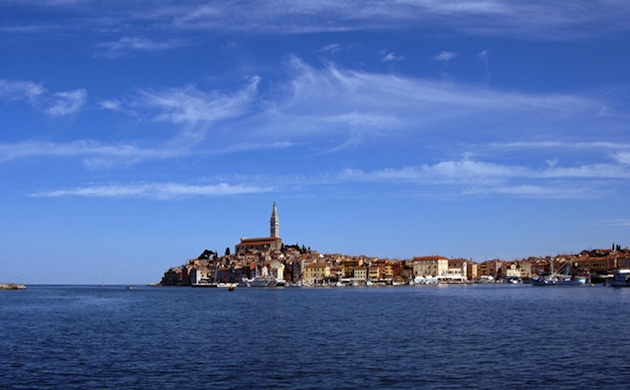 Rovinj from the water