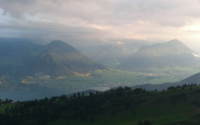 Sunrise On Rigi