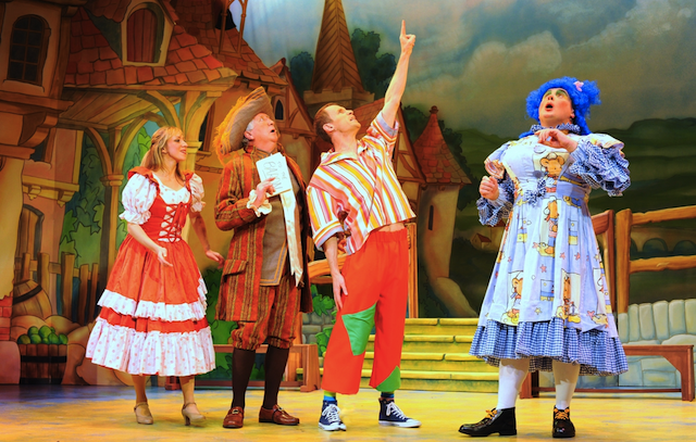 Pantomime stage