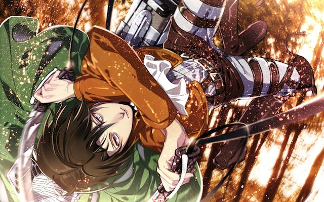 Attack on Titan hero