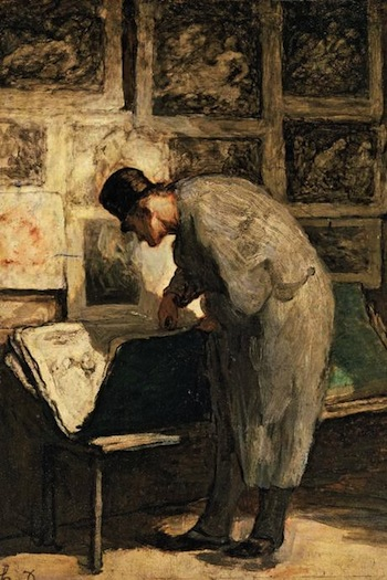 'The Print Collector' (c. 1857-63)