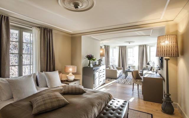Gstaad Bellevue suite