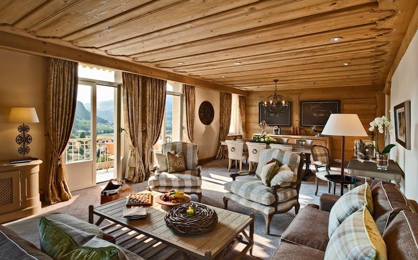 New Deluxe Suite - living room II