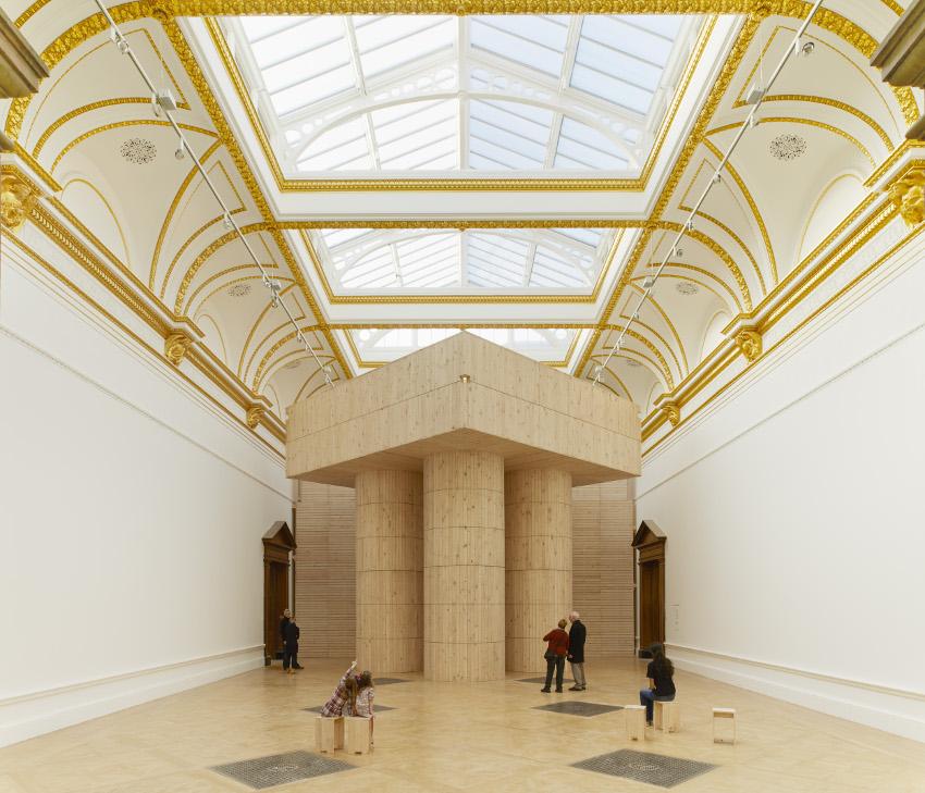 Installation by Pezo von Ellrichshausen