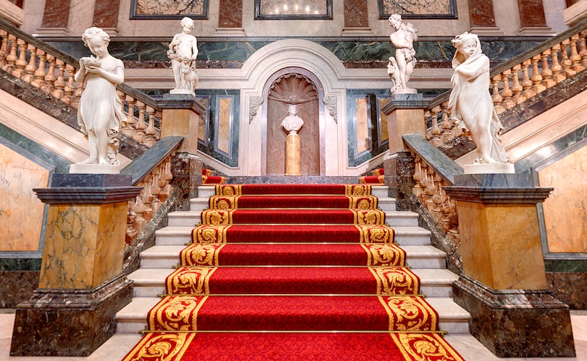 Goldsmiths Hall stairway