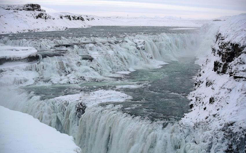 Iceland Gulfloss falls