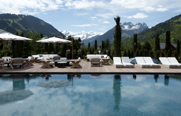 Alpina Gstaad view