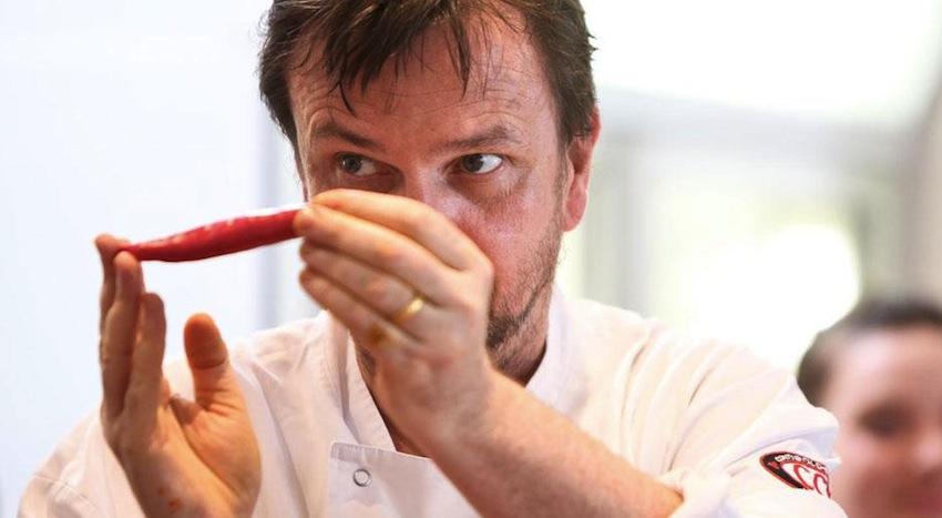 David Thompson cooking