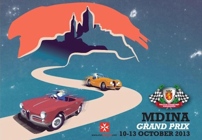 Mdina GP poster