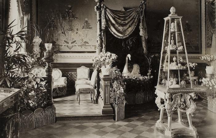 Faberge Romanov display